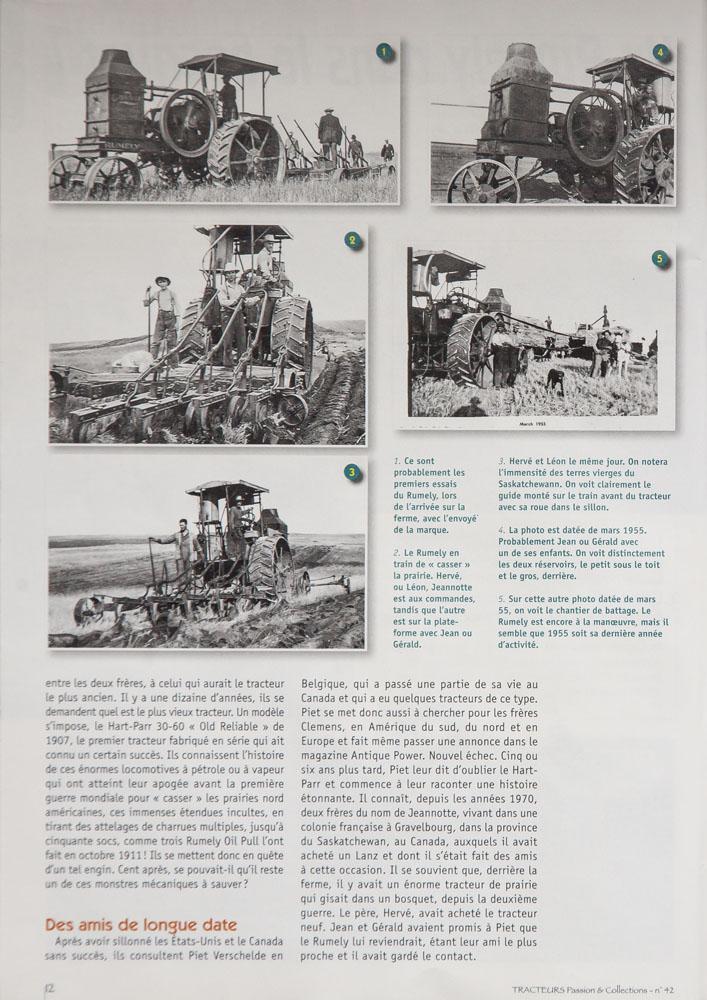 Piet Verschelde Antique Tractors - About Piet Verschelde